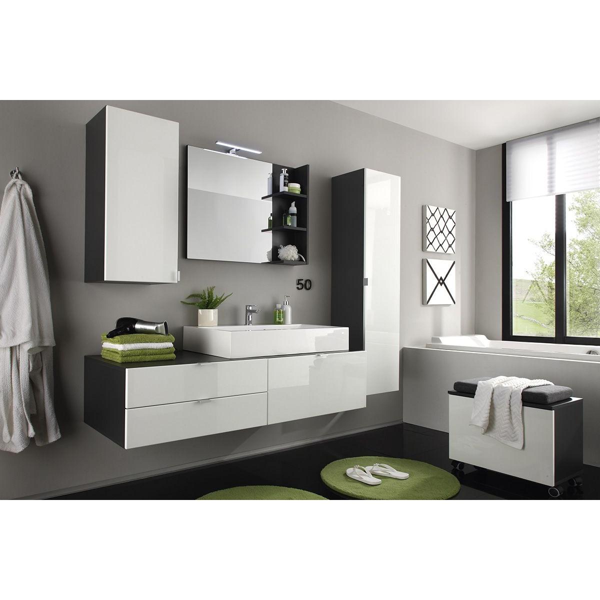 miroir salle de bain avec etagere soldes miroir de salle de bain avec 3 tag res coloris