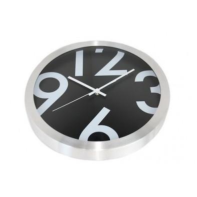 Horloge murale noir collection Abenois