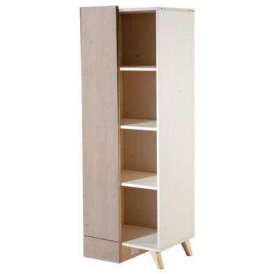 Bibliothèque enfant blanc design en bois mdf collection Laredonda