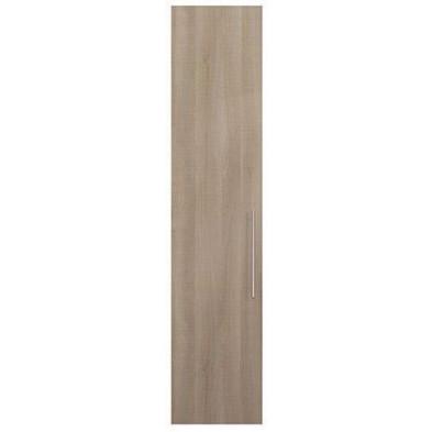 Porte moderne marron en panneaux de particules mélaminés de haute qualité L. 49 x P. 1 x H. 228 cm Collection Alegia