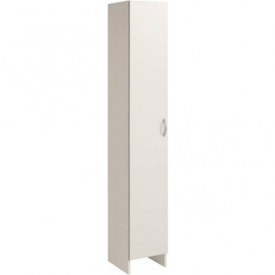 Colonnes moderne blanc en bois mdf  L. 30 x P. 31 x H. 185 cm collection Vesed