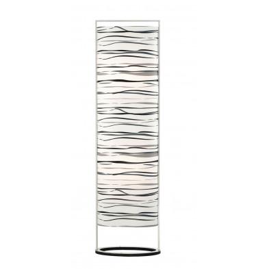 Lampadaire blanc design L. 38 x P. 21 x H. 139 cm collection Lindsay
