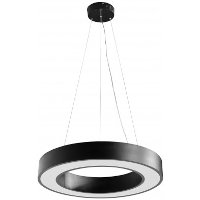 Suspension noir design en acier L. 60 x P. 60 x H. 105 cm collection Meeting