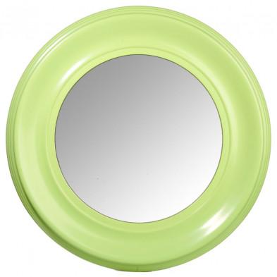 Miroir vert en bois massif collection Fedro
