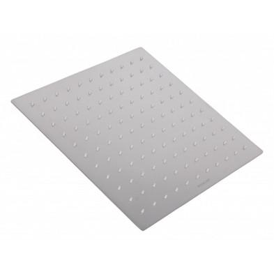 Douche gris design en acier inoxydable L. 30 x P. 30 x H. 5 cm collection Warlkel