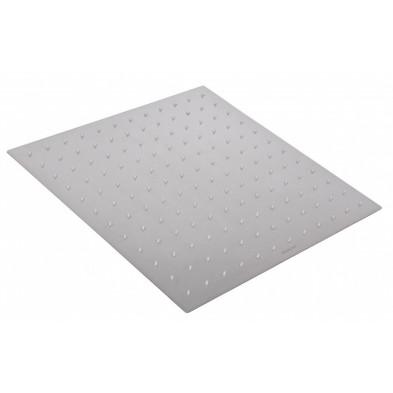 Douche gris design en acier inoxydable L. 40 x P. 40 x H. 5 cm collection Warlkel