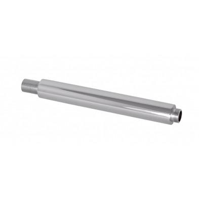 Douche gris design en laiton chromé L. 21 x P. 3 x H. 3 cm collection Barone