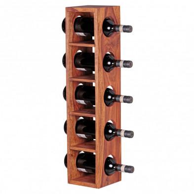 Autres objets déco marron contemporain en bois massif L. 15 x P. 15 x H. 70 cm collection Oving
