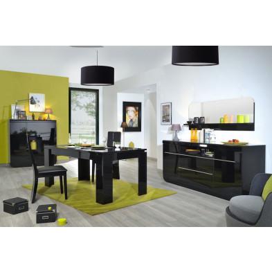 Salle à manger complète noir design en collection Schimmel