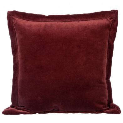 Coussin et oreiller rouge en 40 cm de largeur collection Rachecourt