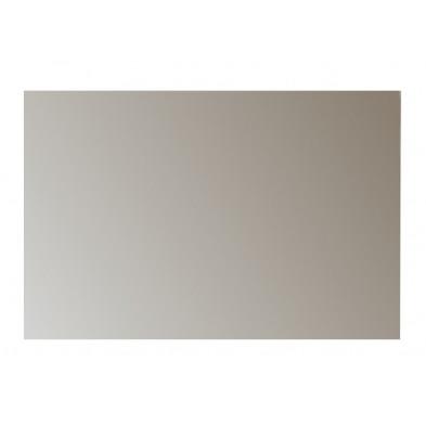 Miroir mural design coloris blanc brillant L. 91 x P. 2 x H. 60 cm collection Janbon