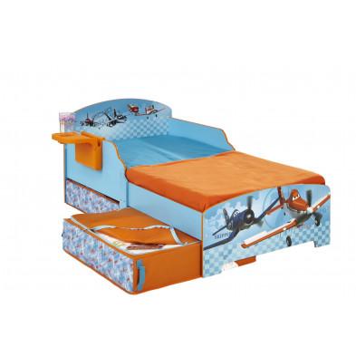 Lit enfant 70X140 cm bleu design collection Sijtsma