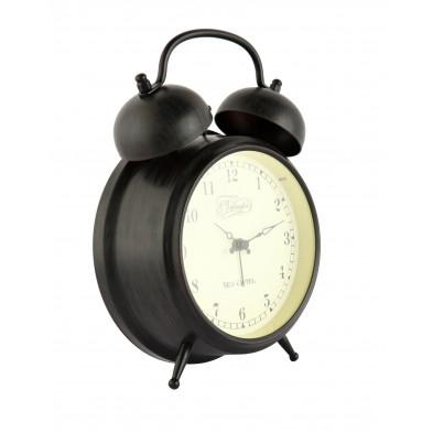 Réveil marron en acier8,7 x 12,2 cm  collection Santanyi