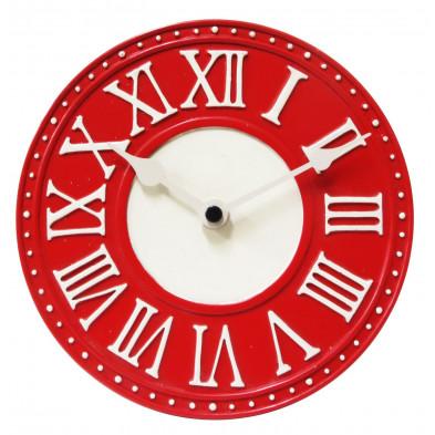 Horloge à poser rouge classique  collection Jongejans