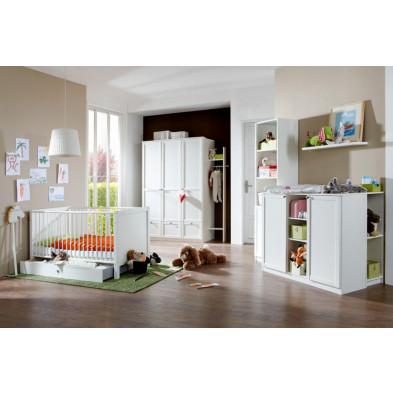 Chambre bébé complète blanc contemporain collection Quickborn