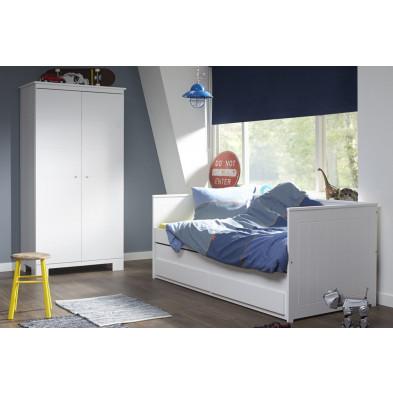 Chambre enfant complète blanc moderne en collection Aberrant