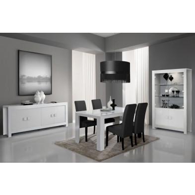 Salle à manger complète blanc design collection Lamswaarde