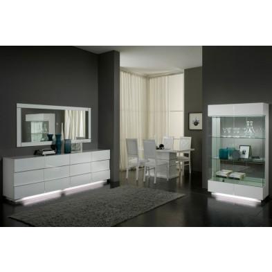 Salle à manger complète blanc design collection Endurable