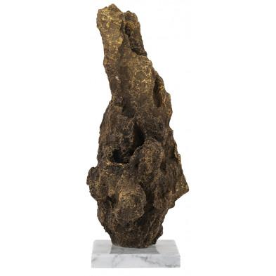Déco figurine et statue design en acier et polyrésine, L. 12 x P. 12 x H. 35 cm  collection Jazzlee Richmond Interiors Richmond Interiors
