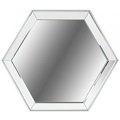Miroir argenté design en miroir et verre, L. 45.5 x P. 3.2 x H. 40.5 cm  collection Axel Richmond Interiors Richmond Interiors
