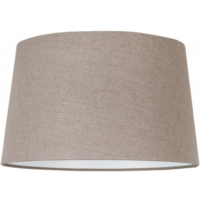 Abat-jour beige moderne en coton L. 35 x P. 24 x H. 40 cm  collection Ariana Richmond Interiors