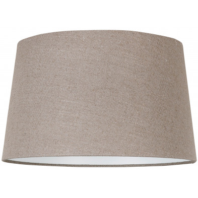 Abat-jour beige moderne en coton L. 30 x P. 21 x H. 35 cm  collection Ariana Richmond Interiors