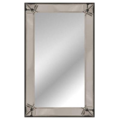Miroir mural argenté design  L. 110 x P. 4.5 x H. 80 cm collection Luco Richmond Interiors