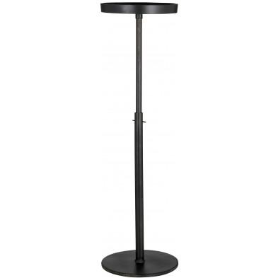 Table de bar noir design en aluminium L. 20 x P. 20 x H. 44 cm collection Ravi Richmond Interiors