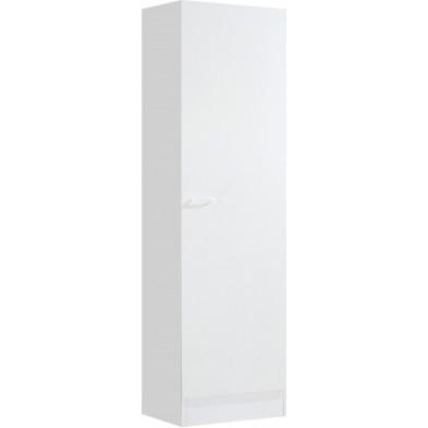Armoire  de cuisine blanc moderne en panneaux de particules de haute qualité L. 50 x P. 50 x H. 200 cm collection Spijkstra