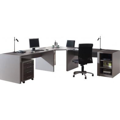 Bureau entreprise gris moderne en cm de largeur collection Herkenbosch