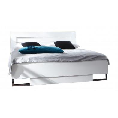 Lit 140x200 cm blanc design collection Fifekeith