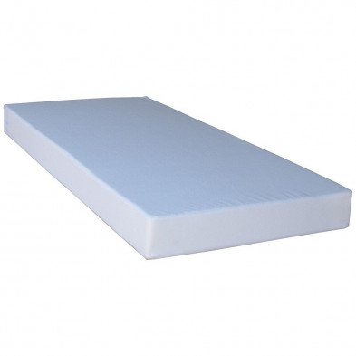 Matelas blanc contemporain en polyester 120 x 190 cm collection Zevekote