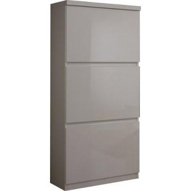 Argentier - meuble bar blanc design en panneaux de particules de haute qualité L. 65 x P. 40 x H. 154 cm collection Join