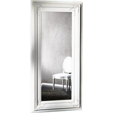 Miroir mural 180 cm coloris blanc design Antique collection Mutxamel