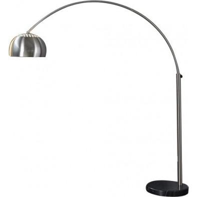 Lampadaire extensible en métal coloris chromé 170 - 210 cm collection Felsham