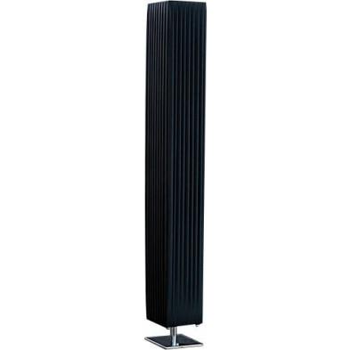Lampadaire colonne coloris noir L. 15 x P. 15 x H. 45 cm collection Frazee