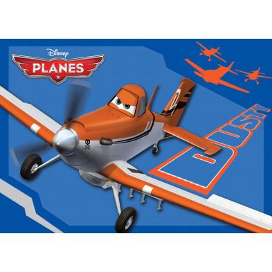 Tapis Planes Dusty Disney 95x133cm pour enfant collection Sijtsma