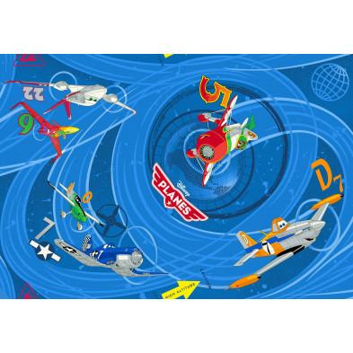 Tapis pour enfant 95x133cm Planes Disney collection Sijtsma