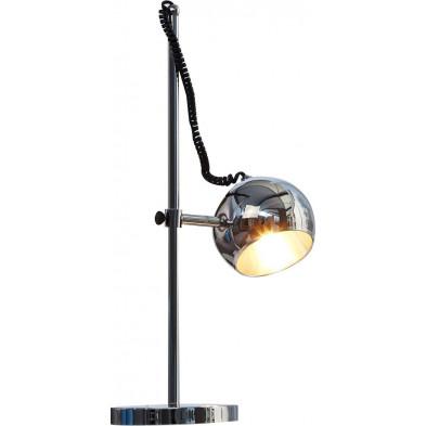 Lampe à poser design spot chromé 59 cm collection Andriano