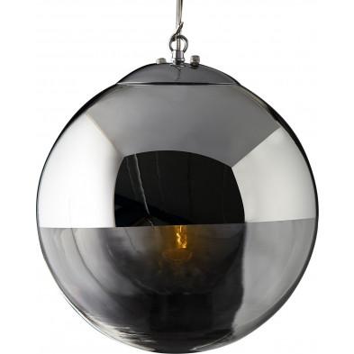 Lampe Suspension 30 cm design boule collection Egling