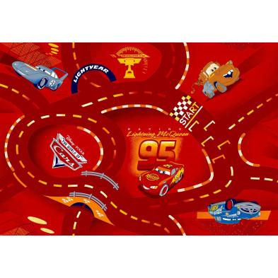 Tapis Cars Disney 95x133cm pour enfant  collection Guimaraes