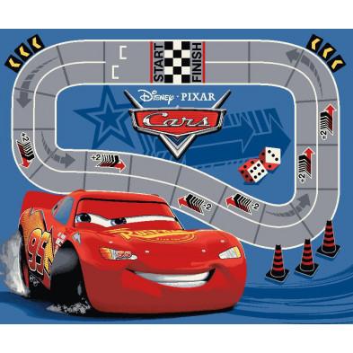 Tapis enfant thème Cars Disney 95x133cm collection Guimaraes